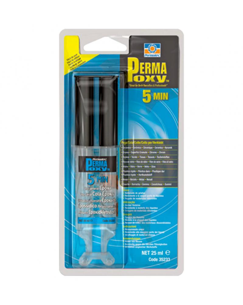 Permatex Permapoxy 5min multifonction 25 ml epoxy - Colles Adhésifs Epoxy - Mon Grossiste Auto