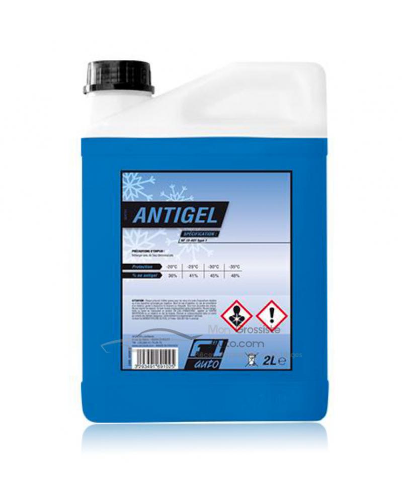 Liquide de refroidissement bleu, minéral 2L | Mongrossisteauto.com