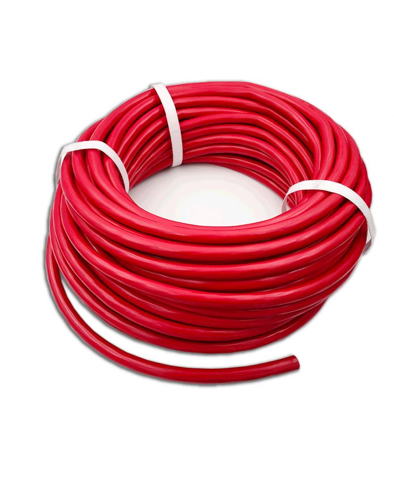 Cable de démarrage 50mm2, poids lourd, rouge | Mongrossisteauto.com