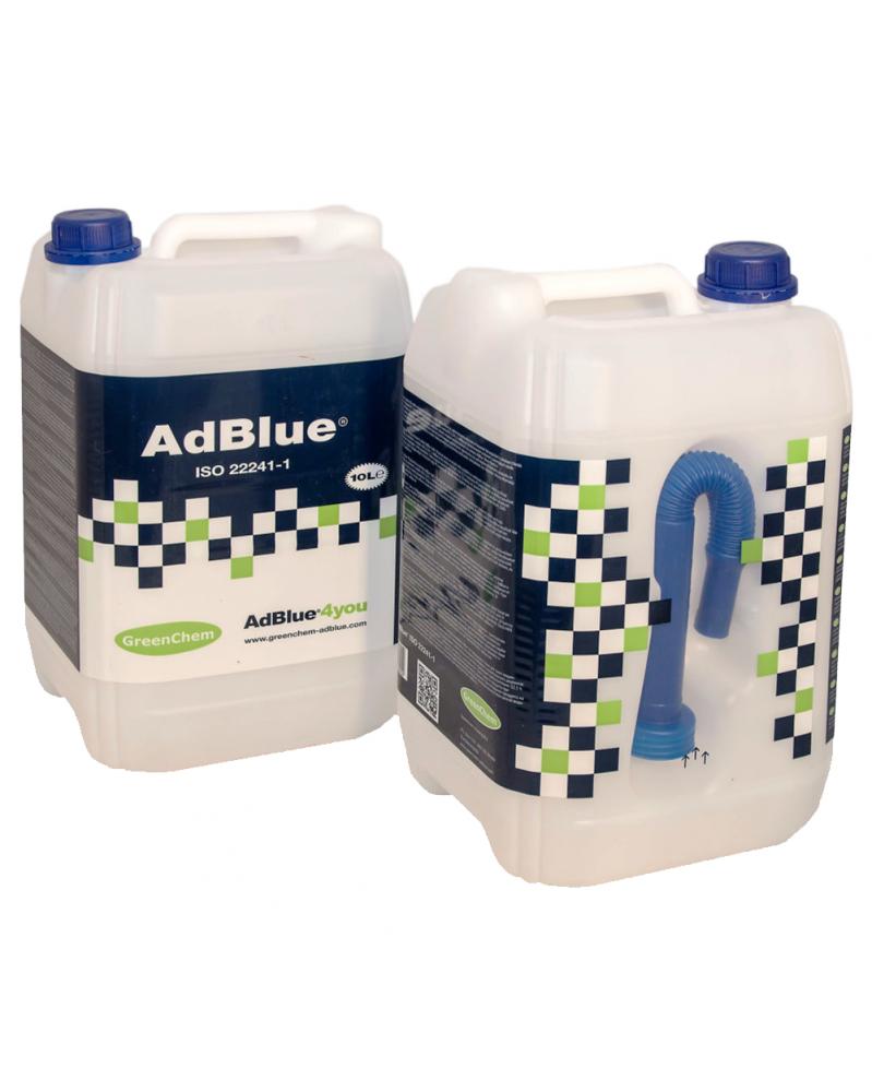 AdBlue® 10L, bidon, iso 22241- GreenChem | Mongrossisteauto.com