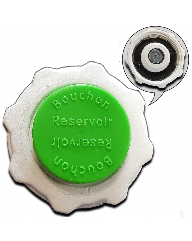 Bouchon de liquide de refroidissement (130643) - 3RG   Mongrossisteauto.com