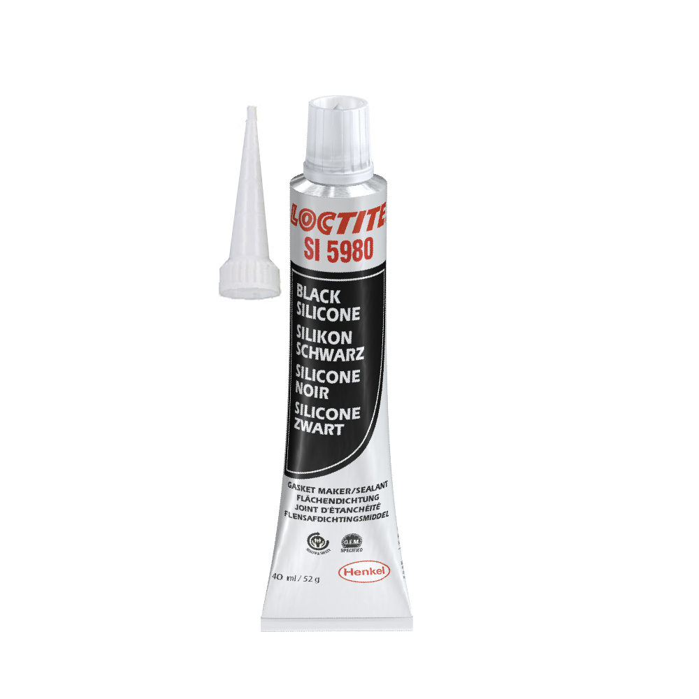 loctite si 5980 quick gasket joint silicone premium noir 40ml gamme pro ebay. Black Bedroom Furniture Sets. Home Design Ideas