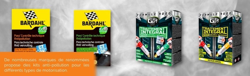 kit anti pollution bardahl; gs27; marque anti pollution voiture   Mongrossisteauto.com