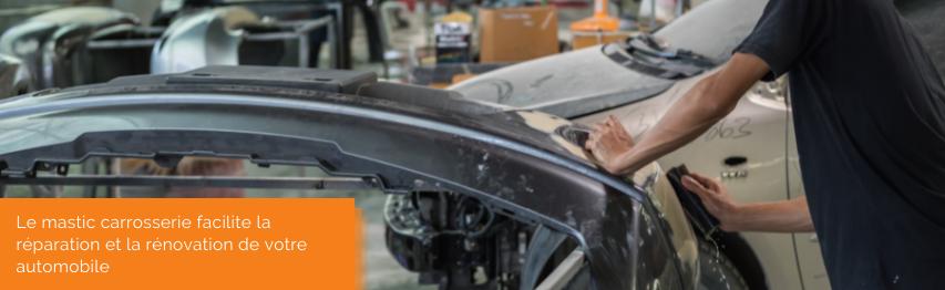 Le mastic carrosserie facilite la réparation et la rénovation de votre automobile   Mongrossisteauto.com